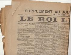 Journal Ancien LE XXè SIECLE Samedi 18 Décembre 1909 Le Roi  Léopold II - Journaux - Quotidiens
