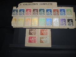 BELGIQUE - Timbres De L'Exposition De Bruxelles 1897 Sur Ancienne Feuille D'album - Pas Courant - N° 19912 - Erinnophilie