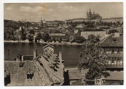 Tchéquie--PRAGUE--1958--Panorama ,cpsm N° F 130306 éd Orbis--timbre+cachet.......à Saisir - Tchéquie