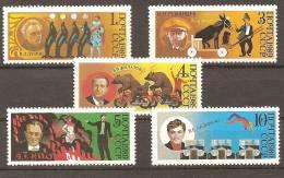1989 N° 5660/64 ** Luxe - 1923-1991 USSR
