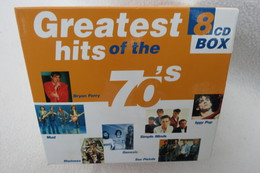 """8 CD-Box """"Greatest Hits Of The 70´s"""" - Hit-Compilations"""