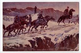 En Guerre - Armée Russe - Artillerie Traversant Un Col Des Carpathes - Oorlog 1914-18