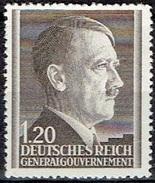 POLAND # GENERAL GOVERNMENT FROM 1942  STAMPWORLD 87** - Algemene Overheid