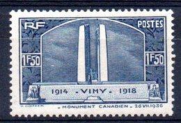 FRANCE - YT N° 317 - Neuf ** - MNH - Cote 37,00 € - France