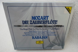 "3 CDs ""Wolfgang Amadeus Mozart"" Zauberflöte (The Magic Flute) Berliner Philharmoniker, Herbert Von Karajan - Klassik"