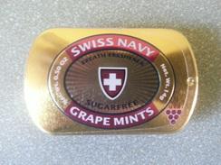 Ac-boîte Métal - Grape Mints - Swiss Army - Sous Cello - Scatole