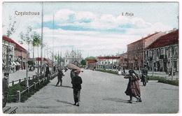 CZESTOCHOWA 1910 Aleja I - Polen