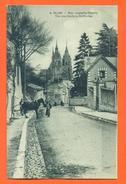 """CPA  41 Blois """" Rue Auguste Thierry - Vue Des Clochers St Nicolas """" Attelage - LJCP 18 - Blois"""