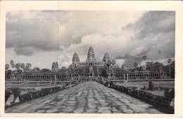 ASIE Asia - CAMBODGE Cambodia *** Carte Photo (sans Légende) *** ANGKOR VAT  - CPSM Photo PF 1959 - Kambodscha Cambodja - Cambodia