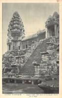ASIE Asia - CAMBODGE Cambodia - ANGKOR VAT :  Aile Nord De La Façade Ouest 3 ème Etage - CPA N° 88 ( Editeur Photo NADAL - Kambodscha