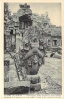 ASIE Asia - CAMBODGE Cambodia - ANGKOR VAT :  Bantéaï Kdei - Détail Garuda Sur Naga .. CPA N° 184 (Editeur Photo NADAL ) - Kambodscha
