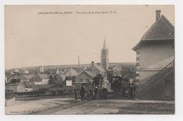 14 CALVADOS - ARROMANCHES LES BAINS Vue Prise De La Gare Des C.F.C (voir Descriptif) - Arromanches