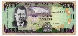 JAMAICA 100 DOLLARS 2009 Pick 84d Unc - Jamaica