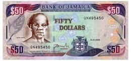JAMAICA 50 DOLLARS 2009 Pick 83d Unc - Jamaica