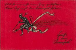CPA Diable Devil Krampus Non Circulé - Glaube, Religion, Kirche