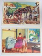 10 Cartes Postales Numérotées Saint Dizier Entreprise Ronot Chaudronnerie Centenaire 2005 Machine Agricole - Saint Dizier