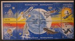 Etats-Unis - 1981 - Bloc Conquête De L'espace - Etats-Unis