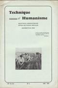 Revue étudiant Université De Liège TECHNIQUE ET HUMANISME - Kranten