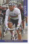 THOR  HUSHOVD  SERIE  SPRINT 2010   N°  205 - Cyclisme