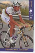 ALESSANDR  BALLAN      SERIE  SPRINT 2010   N°  201 - Cyclisme
