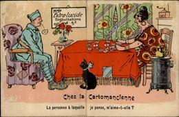 CROYANCES - VOYANCE - Cartomancienne - Voyante - Tireuse De Cartes - Carte à Système - Soldat - Other