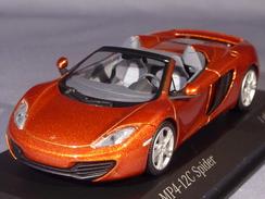 Minichamps 530133030, McLaren MP4-12C Spider, 2012, 1:43 - Minichamps