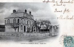 FLEURY-SUR-ANDELLE (Eure) - Ecole Libre - Other Municipalities