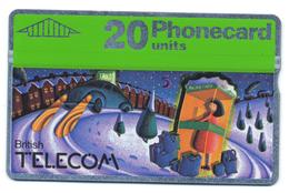 British Telecom, Phonecard 20, Thème, Téléphones, Cabine, Voiture - Telefoni