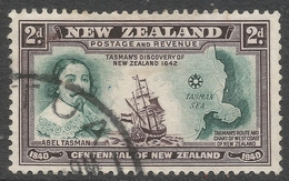 New Zealand. 1940 Centenary Of Proclamation Of British Sovereignty. 2d Used SG 616 - 1907-1947 Dominion