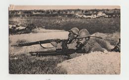 Mitrailleuse - Alerte Aux Gaz - Guerre 14-18 - 1914-18