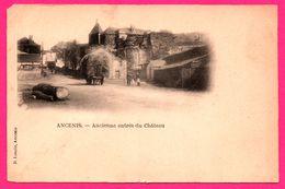 Ancenis - Ancienne Entrée Du Château - Animée - Charrette - D. LONCIN - Ancenis
