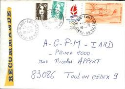 FRANCE - Enveloppe Envoyée D´une Base Aérienne - Pour étude Des Bases - Détaillons Collection - A Voir - Lot N° 21011 - Marcophilie (Lettres)