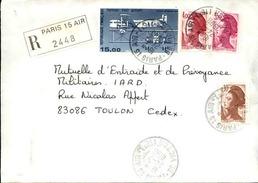 FRANCE - Enveloppe Envoyée D´une Base Aérienne - Pour étude Des Bases - Détaillons Collection - A Voir - Lot N° 21012 - Marcophilie (Lettres)