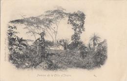 Afrique - Côte D'Ivoire - Femme - Collection Eugène Aubert - 1906 Cachet Marseille Paquebot Galilée Tanger - Ivory Coast