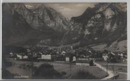 Netstal Mit Bahnhof Und Zügen - Photo: Frei & Co. No. 2533 - GL Glarus