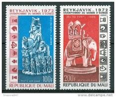 1973 Mali Scacchi Chess Eches Set MNH** UL29 - Scacchi