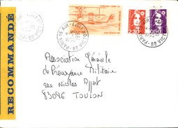 FRANCE - Enveloppe Envoyée D´une Base Aérienne - Pour étude Des Bases - Détaillons Collection - A Voir - Lot N° 21014 - Marcophilie (Lettres)