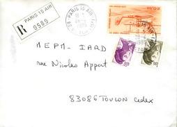 FRANCE - Enveloppe Envoyée D´une Base Aérienne - Pour étude Des Bases - Détaillons Collection - A Voir - Lot N° 21016 - Marcophilie (Lettres)