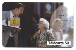 France, Telecom, Telecarte 50, Thème, Téléphones, A Qui Parlerez Vous Aujourd'hui? - Telefoni
