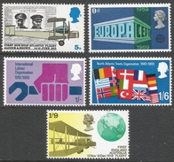 Great Britain. 1968 British Anniversaries. MH Complete Set. SG 767-770 - 1952-.... (Elizabeth II)