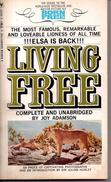 Living Free By Joy Adamson - Livres, BD, Revues