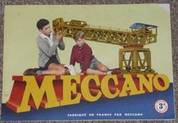 Ancien Manuel D´instruction MECCANO N°3A, Nombreux Modèles, 1957 - Meccano
