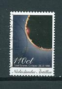 1998 Netherlands Antilles 110 Cent Solar Eclipse Used/gebruikt/oblitere - Curaçao, Nederlandse Antillen, Aruba