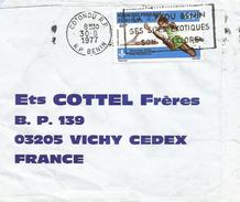 Benin 1977 Cotonou Olympic Games Montreal Athletism Scouting Cover - Benin – Dahomey (1960-...)