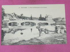 POITIERS /  1910  /  PONT DE ROCHEREUIL  / L ABREUVOIR    EDIT   CIRC - Poitiers
