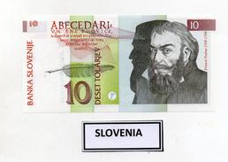 Slovenia - 1992 - Banconota Da 10 Talleri Sloveni - Nuova -  (FDC2394) - Slovenia
