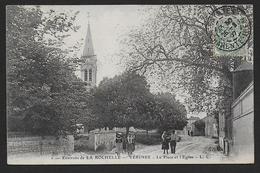 VERINES - La Place Et L' Eglise - France