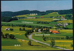 A5703 GERMANY -  CZECHOSLOVAKIA, Border At Furth Im Wald, Unused Postcard - Czech Republic