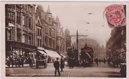 ROYAUME UNI,UNITED KINGDOM,angleterre,england,CARTE ANCIENNE,OLD,1909,YORKSHIRE ,HUMBER,LEEDS,tramway,police - Leeds