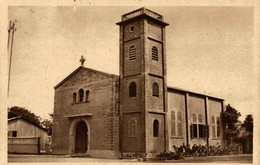 "CPA BÉNIN ""Cotonou, Le Temple Protestant - Benín"